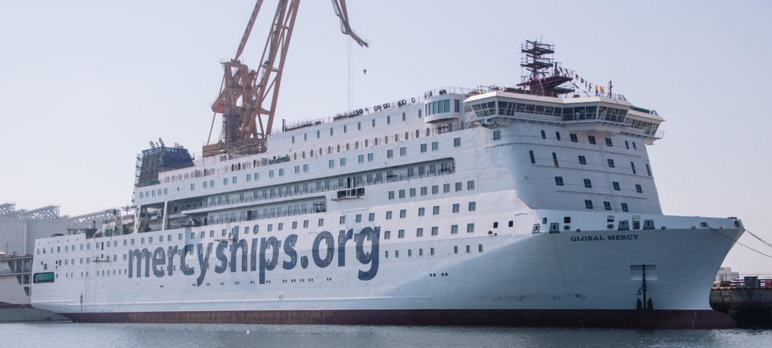 Mercy Ships développe son aide humanitaire par un nouveau navire et de nouvelles formations