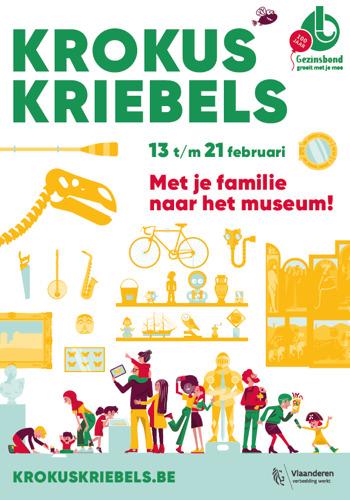 Meer dan honderd musea in Vlaanderen en Brussel gooien tijdens de krokusvakantie deuren open voor families