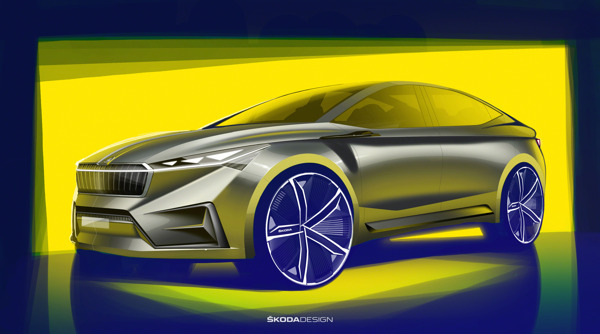 Preview: ŠKODA donne un aperçu représentatif du futur électrique de la marque avec le concept car VISION iV