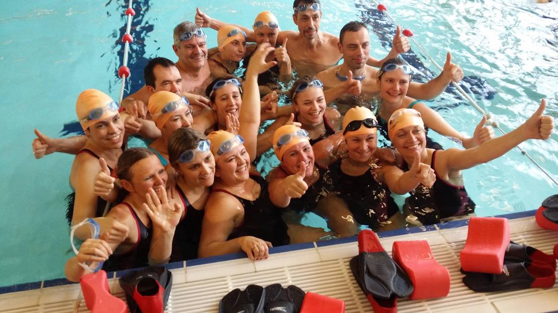 Le sport après le cancer: 12 victorieux et leur buddies au départ du  Zwintriathlon