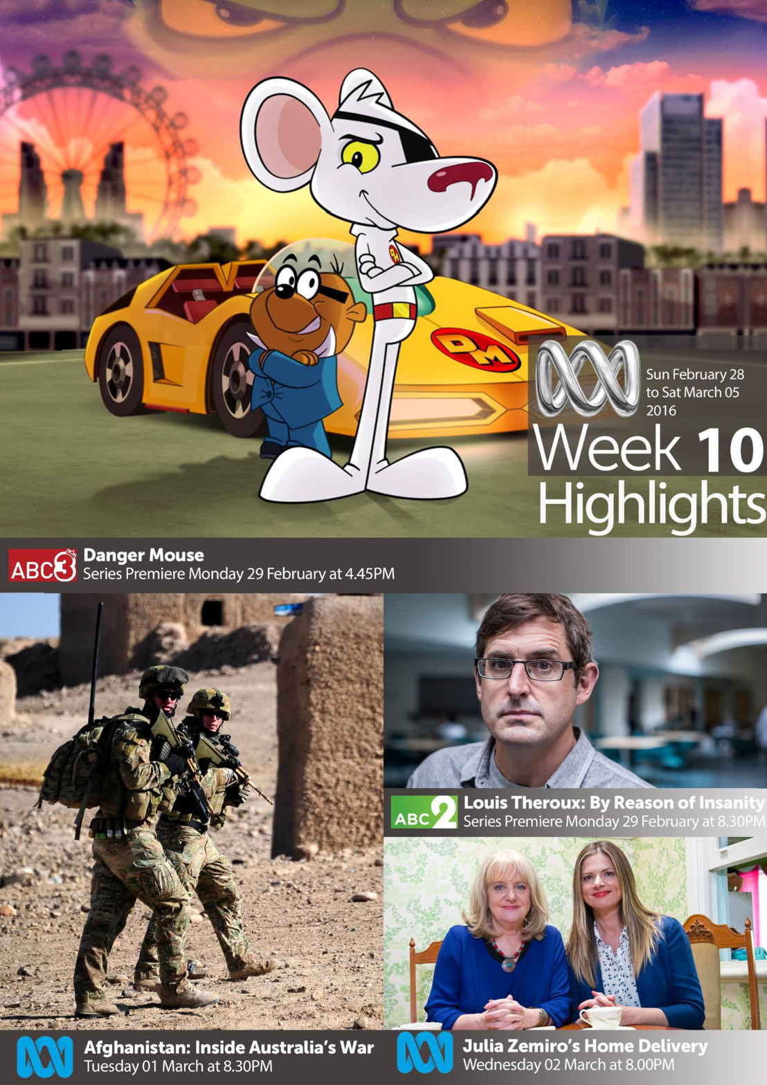 ABC TV Highlights - Week 10
