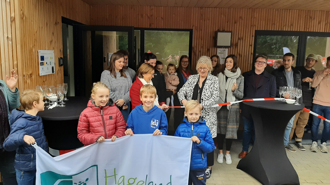 Opening nieuw KLJ-lokaal in Deurne