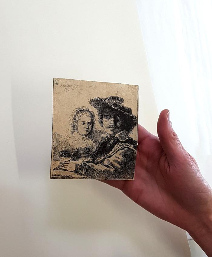 Hoe poets je een Rembrandt?