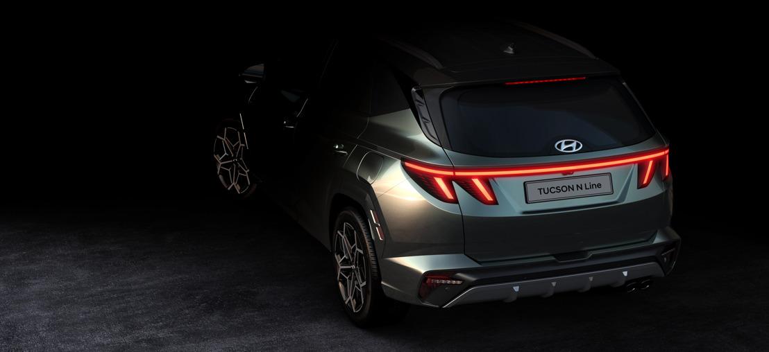Hyundai veröffentlicht erste Bilder des All-New Tucson N Line