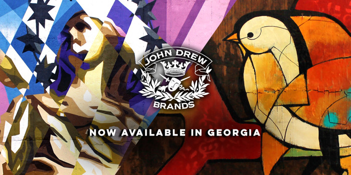 John Drew Brands launches Brixton Mash Destroyer, Dove Tale Rum, and John Drew Rye in Georgia with Georgia Crown Distributing Co.