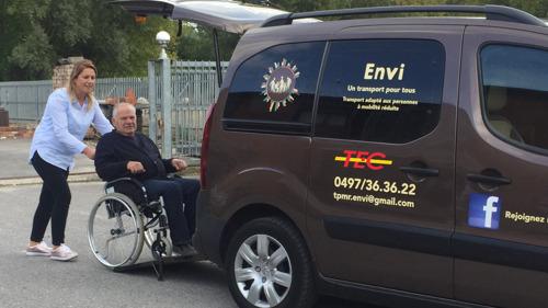 Région du Centre : transport porte-à-porte pour les personnes à mobilité réduite