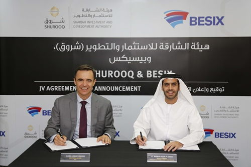 Preview: SHUROOQ and BESIX to invest in a sustainable development wastewater project in Sharjah