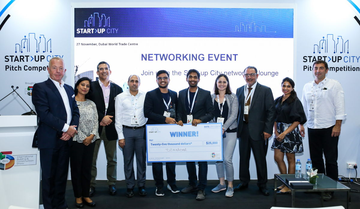Start-Up, TendereD take home the prize at Start-Up City Pitch Competition