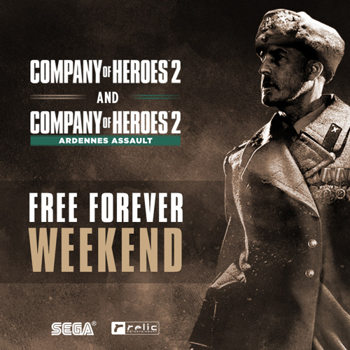 COMPANY OF HEROES 2 AND MAJOR COH2 EXPANSION 'ARDENNES ASSAULT' ARE FREE TO DOWNLOAD (AND KEEP FOREVER) ON STEAM NOW!