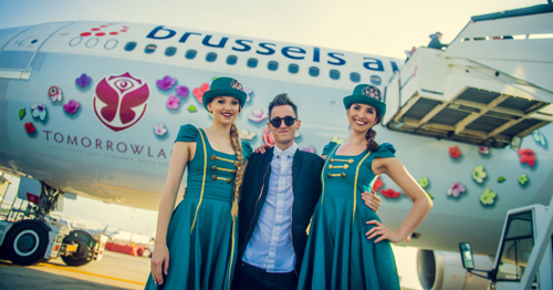 59 party flights pour Tomorrowland (reportage photo)