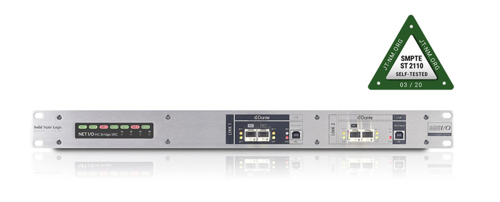 Solid State Logic Network I/O for System T broadcast platform successfully participates in ST 2110 JT-NM testing