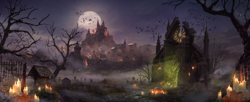 'Trick or treat?': Forge of Empires, Elvenar and Grepolis get ready for Halloween