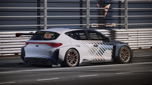 This is how the new CUPRA e-Racer gears up to compete