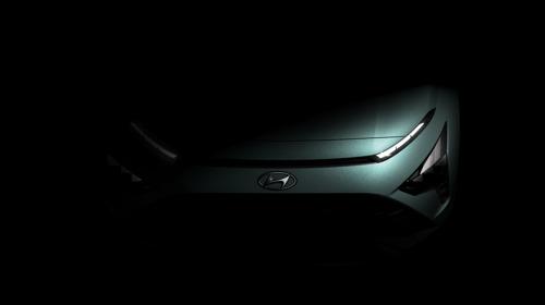 Hyundai preannuncia il design distintivo del nuovissimo crossover SUV Bayon