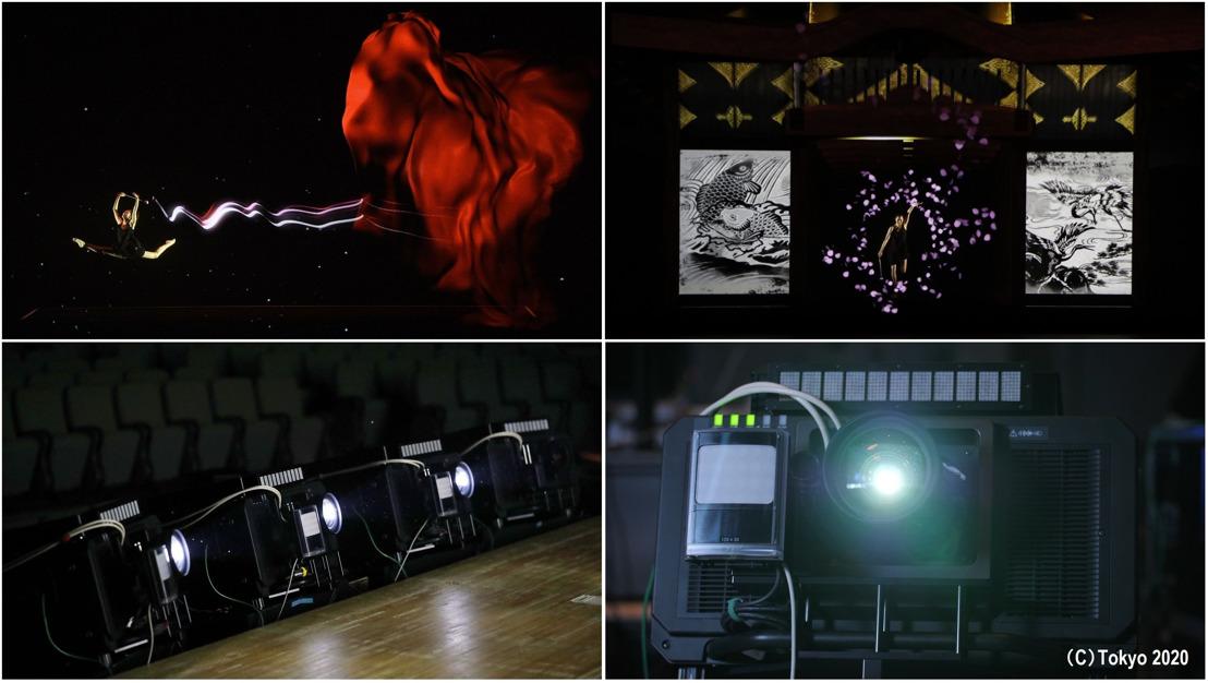 """Tracking en tiempo real y proyección mapping de Panasonic durante la ceremonia """"One Year to Go"""" de los Juegos Olímpicos Tokio 2020"""
