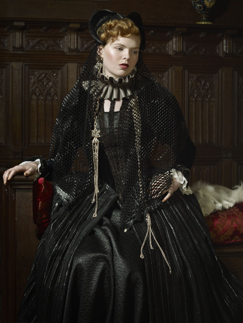 Erwin Olaf, Exquisite Corpses, Interpretation of Sabine, Countess Egmont, Widow of Count of Egmont, 2012, Commissioned by Gaasbeek Castle