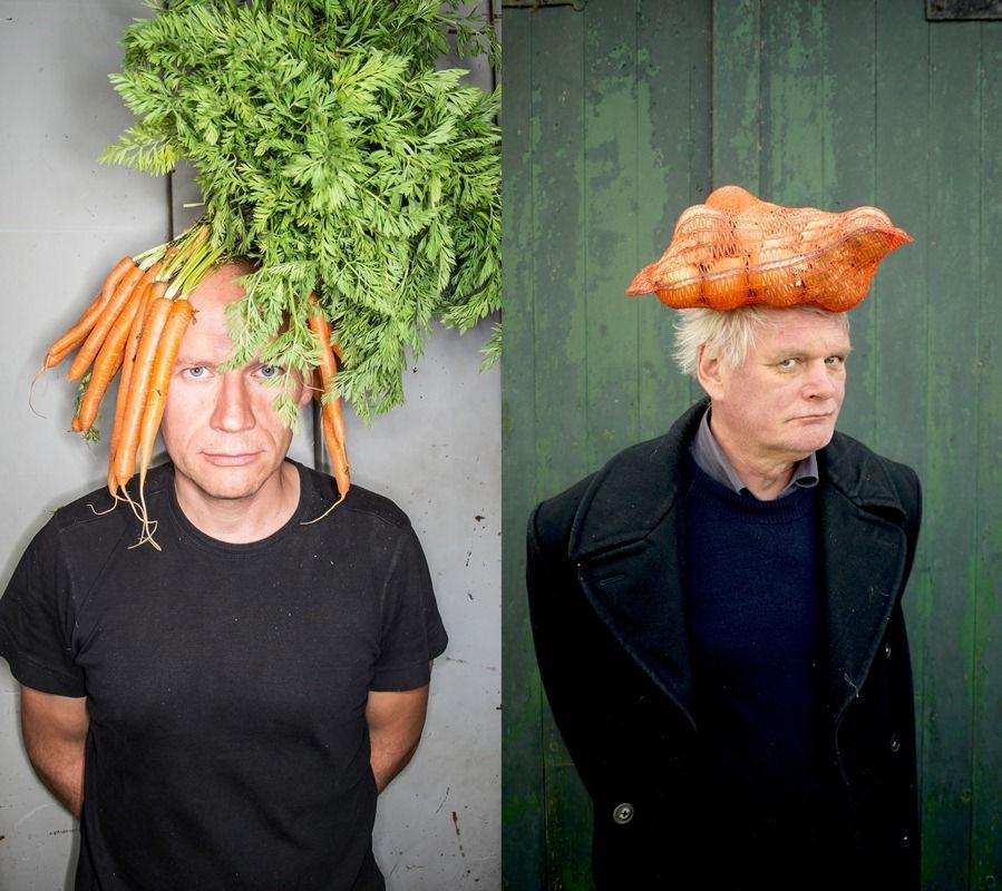 Sven Speybrouck en Wouter Klootwijk in De wilde keuken