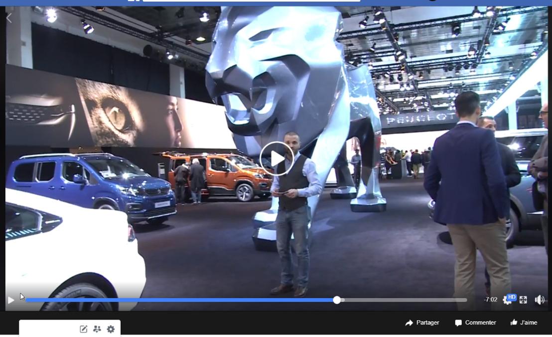 Havas vervroegt de opening van de Peugeot@Brussels Motorshow 2019 voor 580.000 Belgen