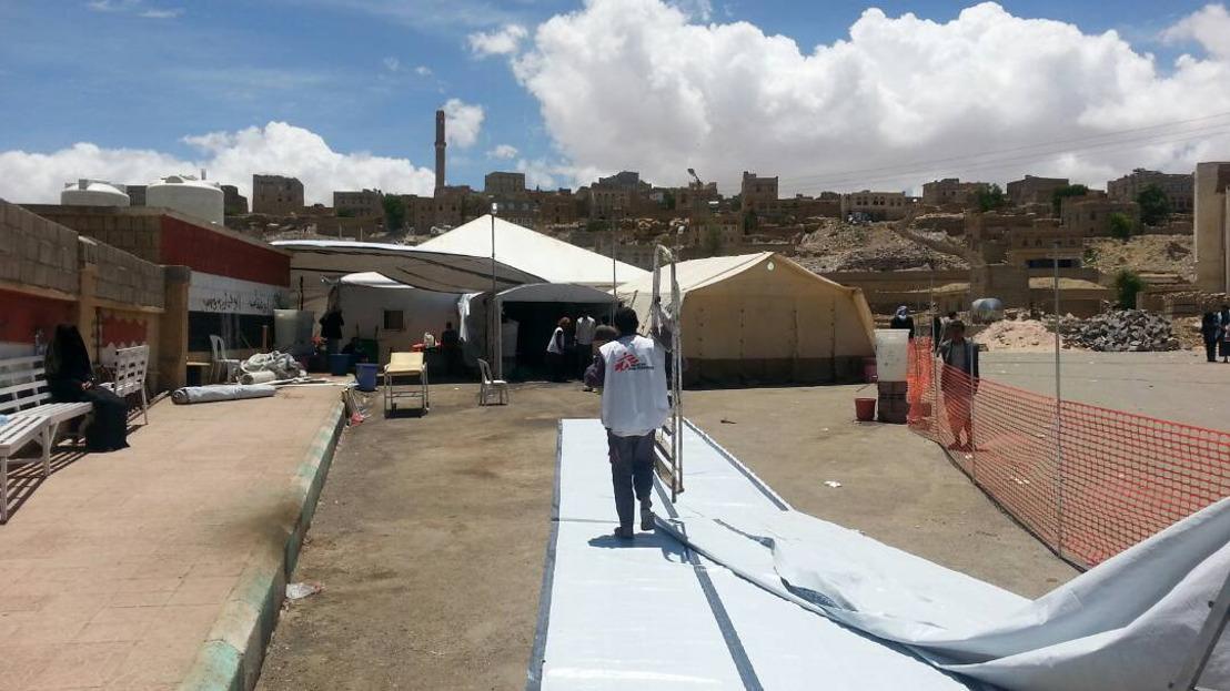 Yémen : MSF appelle à une mobilisation accrue pour répondre à l'épidémie de choléra
