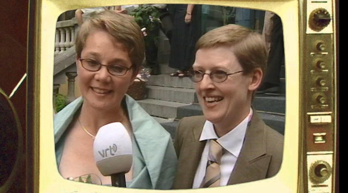 2003: De wet op het homohuwelijk - (c) VRT