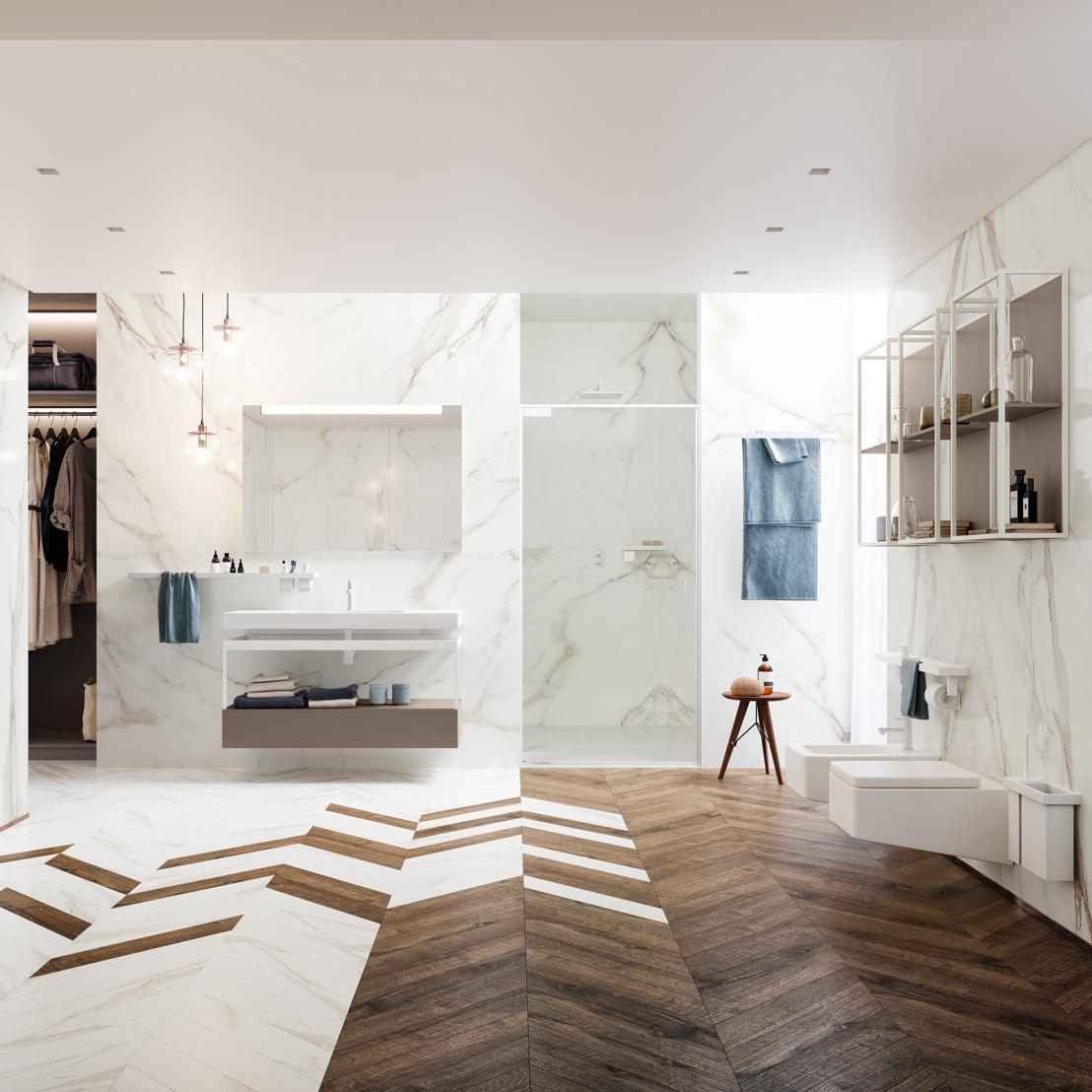 Indissima van Inda: minimalisme troef in de badkamer