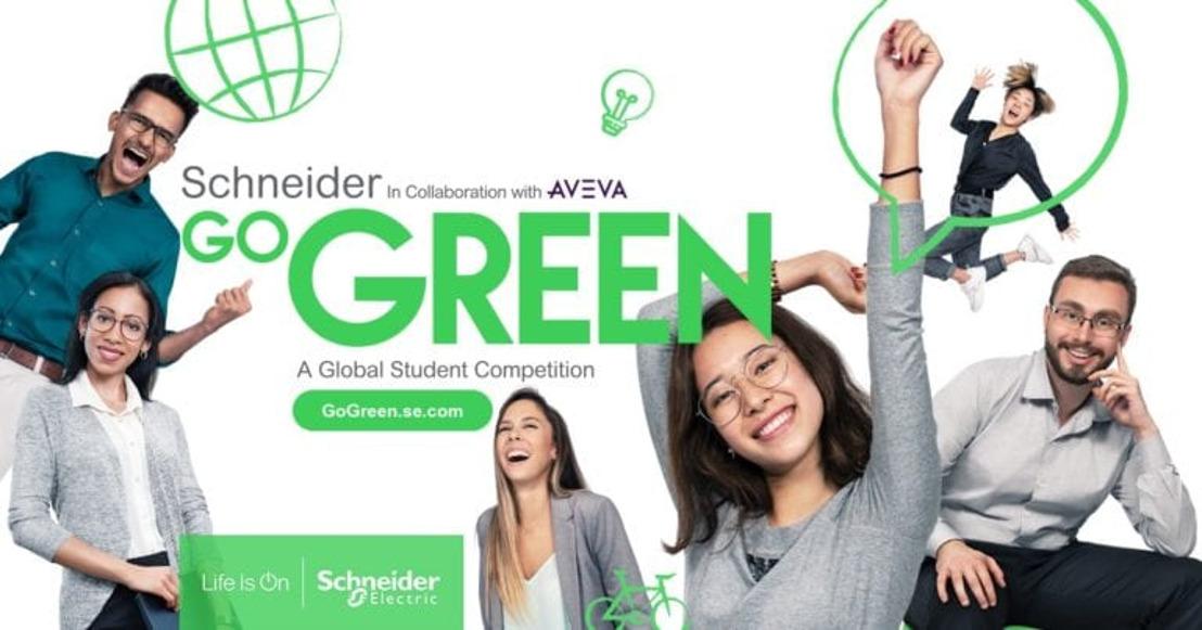 Schneider Electric opent inschrijvingen Go Green studentenwedstrijd