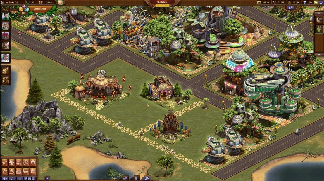 Forge of Empires Osterevent Screenshot