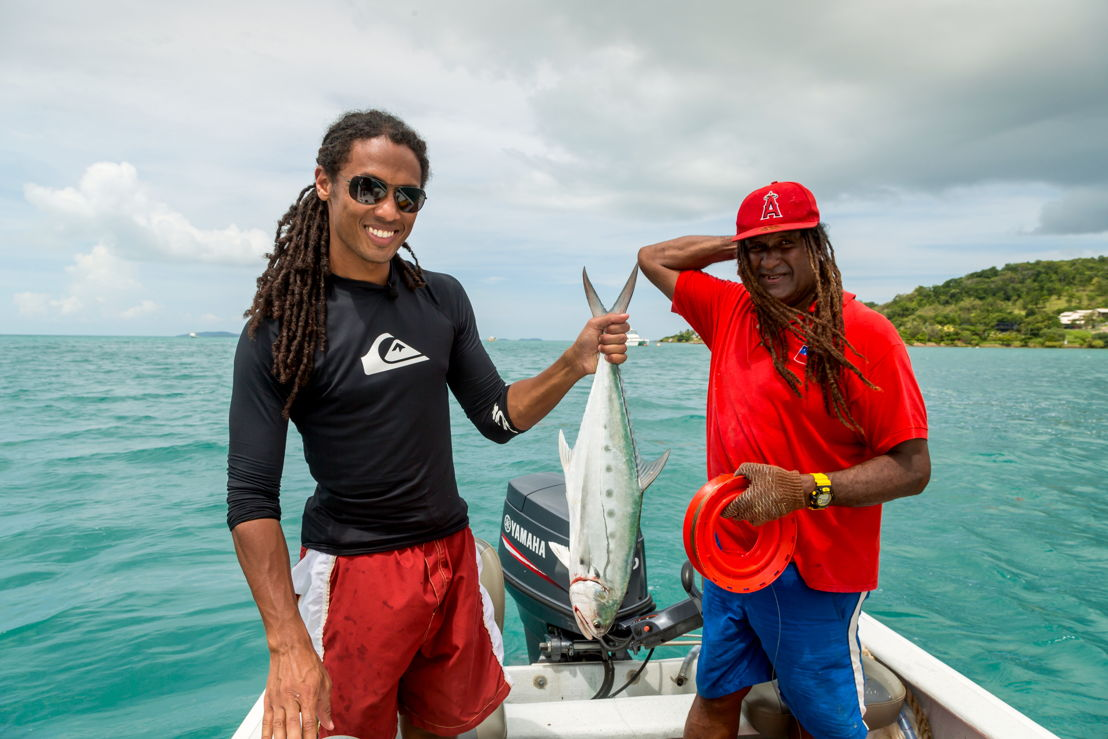 John Eligon & Malawap Nona, Torres Strait - Foreign Correspondent, photo credit Greg Nelson