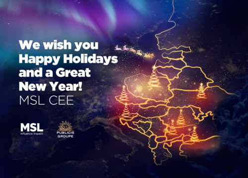 Happy holidays from MSL!