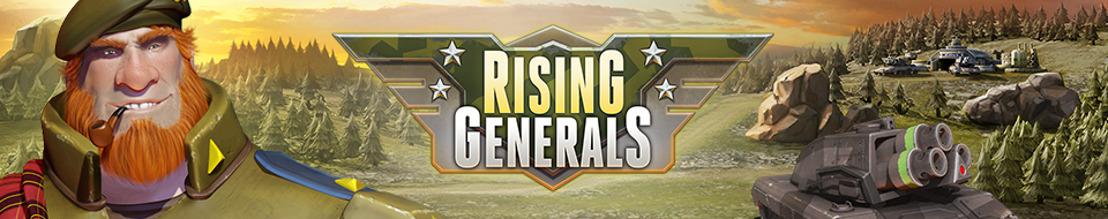 Der imposanteste Fuhrpark seit der Erfindung des Rads: Rising Generals präsentiert seine Einheiten!