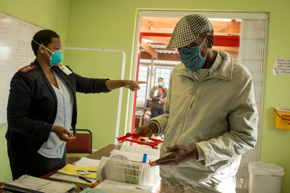 South Africa has one of the highest burdens of TB and (Drug Resistant) DR-TB in the world, with around 20,000 people diagnosed with DR-TB in 2015. Photographer: Sydelle WIllow Smith