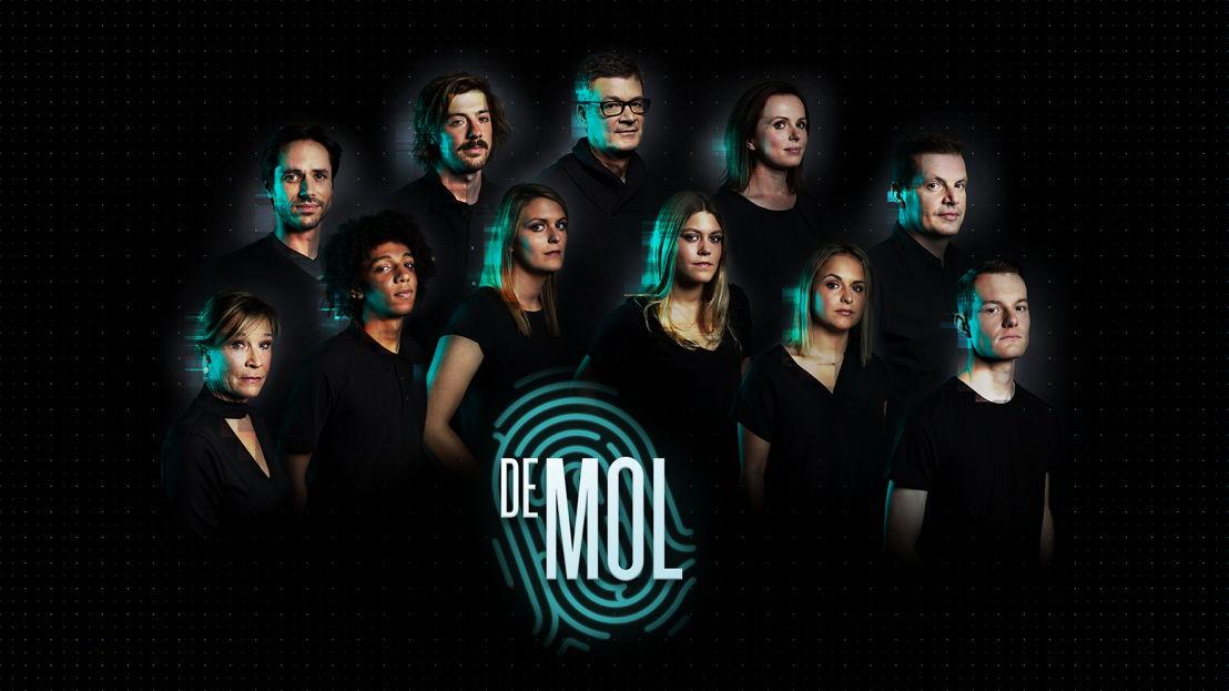 Groepsbeeld De Mol 2017