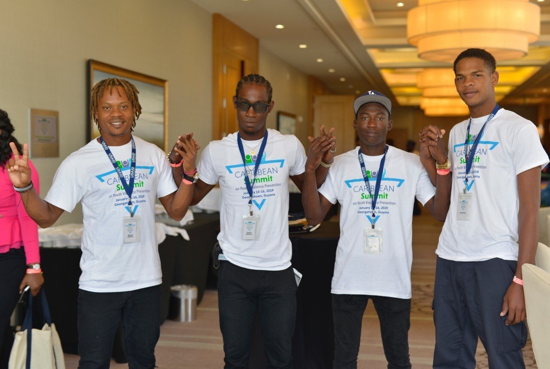 250 LEADERS FROM 21 COUNTRIES AT CARIBBEAN SUMMIT ADDRESS YOUTH-DRIVEN VIOLENCE PREVENTION