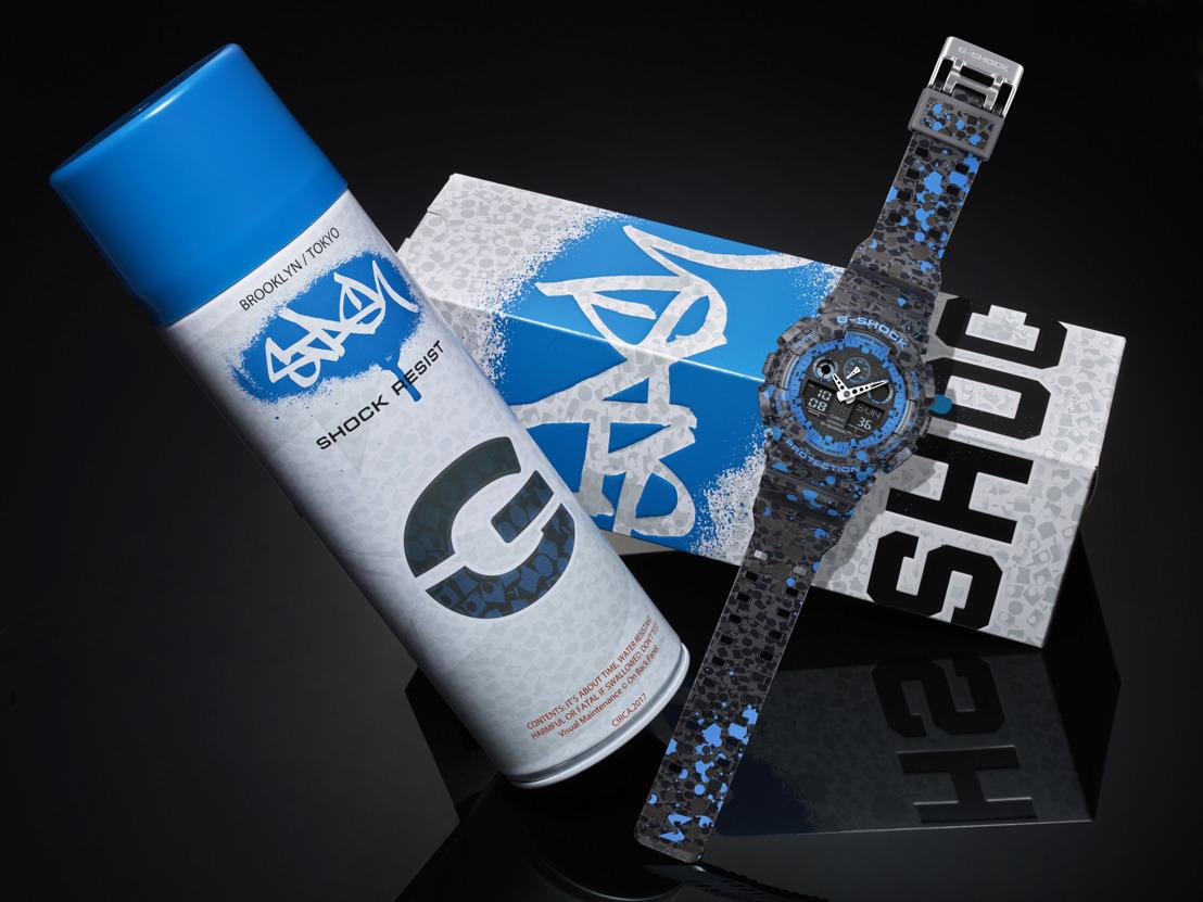 G-Shock se asocia con el legendario artista de graffitti STASH a través los Relojes de Colaboración