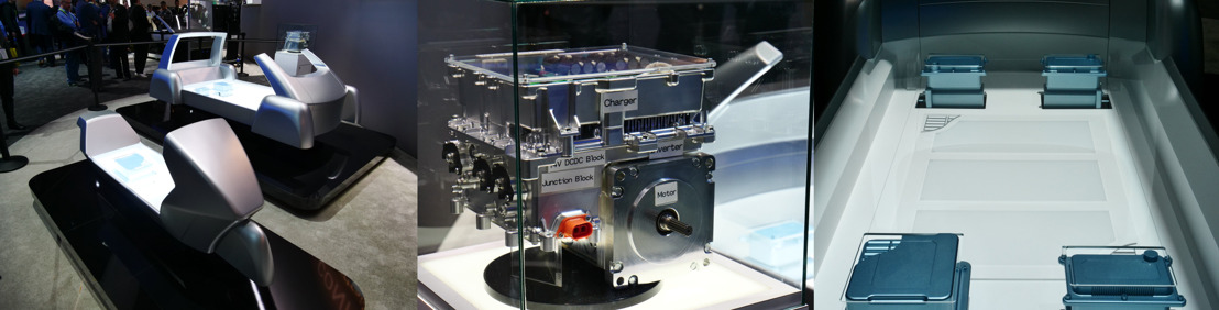 CES 2018 - Panasonic muestra ePowerTrain una plataforma escalable para vehículos eléctricos