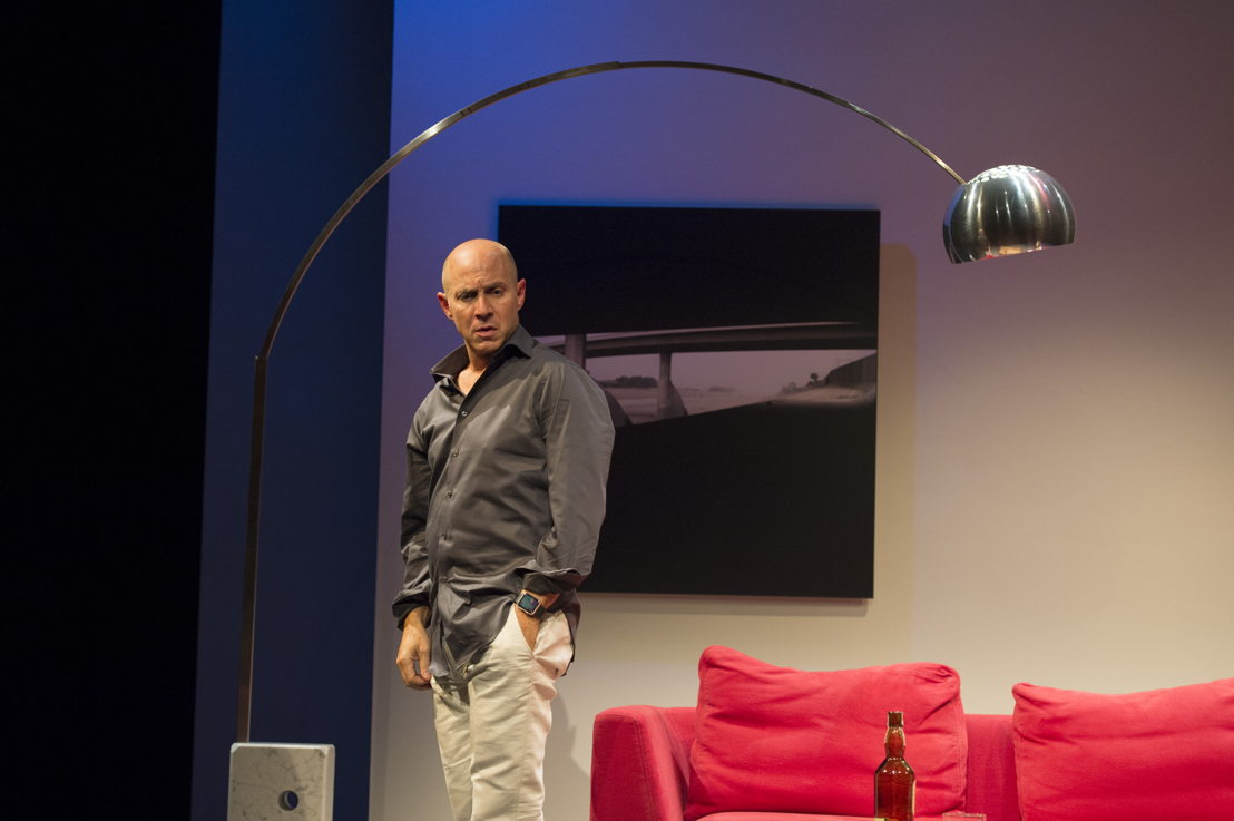 Brian Markinson in Speed-the-Plow / Photos by David Cooper