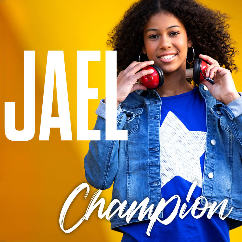 Jael - Champion. Single artwork