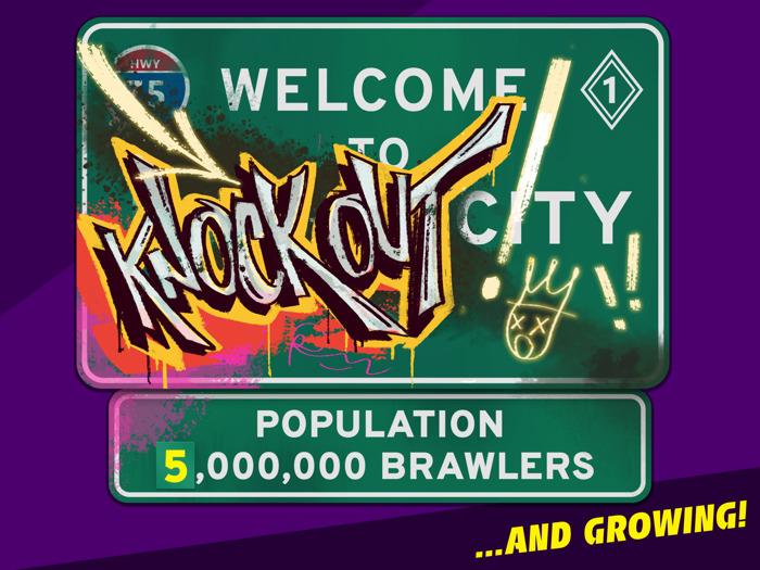 Knockout City atteint 5 millions de joueurs en 2 semaines