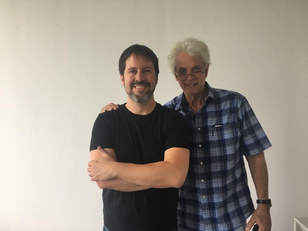 Boiler Room founder/mastering engineer Collin Jordan (l) with WSDG founding partner John Storyk
