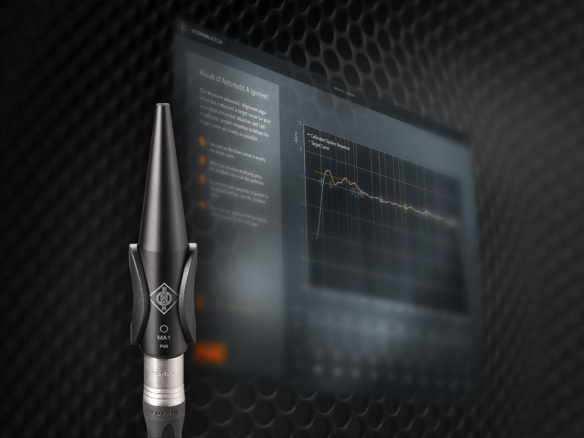 Новинка! Измерительный микрофон Neumann MA1