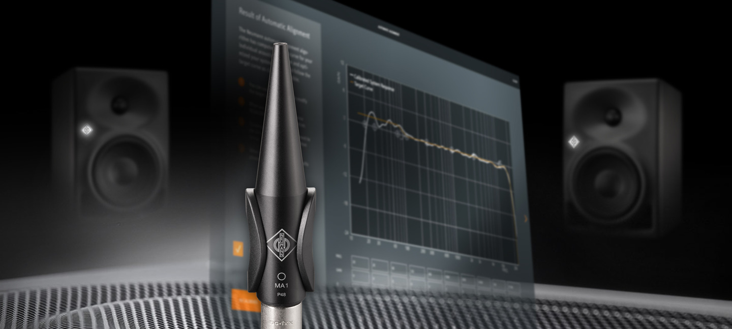 MA 1 – The first automatic monitor alignment from Neumann; jointly developed with Fraunhofer IIS