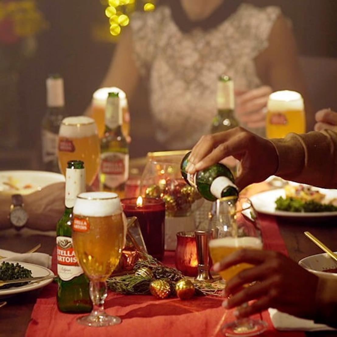 Stella Artois brouwerij nodigt buren uit voor een kerstdiner