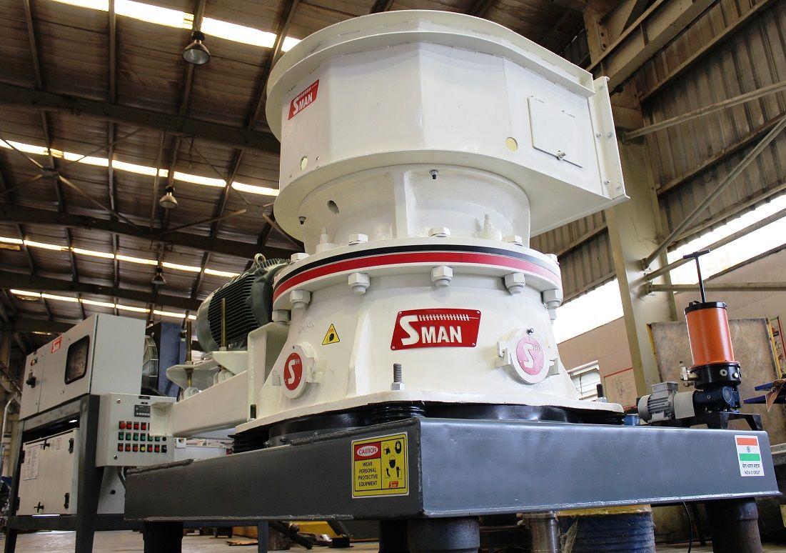12: Shakti Mining<br/>Product Name: SMAN Cone Crushers