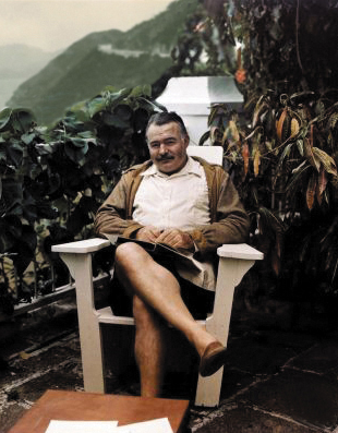 Ernest Hemingway at The Repulse Bay Hotel, 1940s