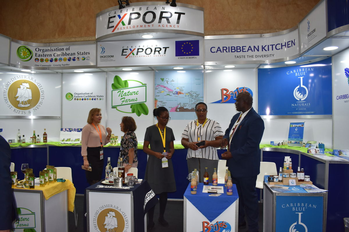 OECS MSMEs showcase products at the 7th Agroalimentaria Trade Show, Dominican Republic