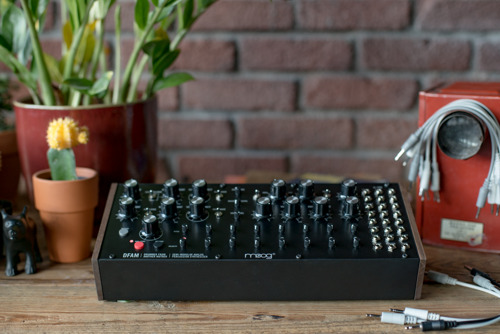 DFAM - A New Analog Percussion Synthesizer From Moog Music
