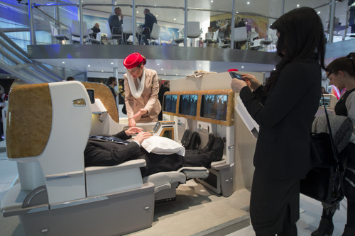 Emirates' Infinite Possibilities Stand Draws the Crowds at ITB Berlin 2016