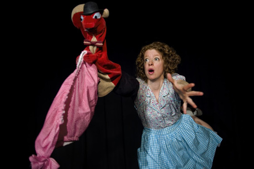 Squirrel Stole My Underpants readies to wreak havoc at the Center for Puppetry Arts, January 2-6