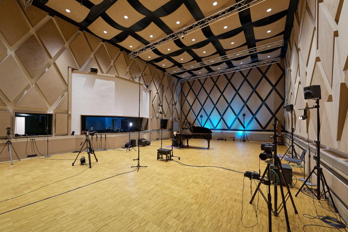 Ein Highlight im Tonstudio Tessmar ist der 190 m² messende Aufnahmesaal