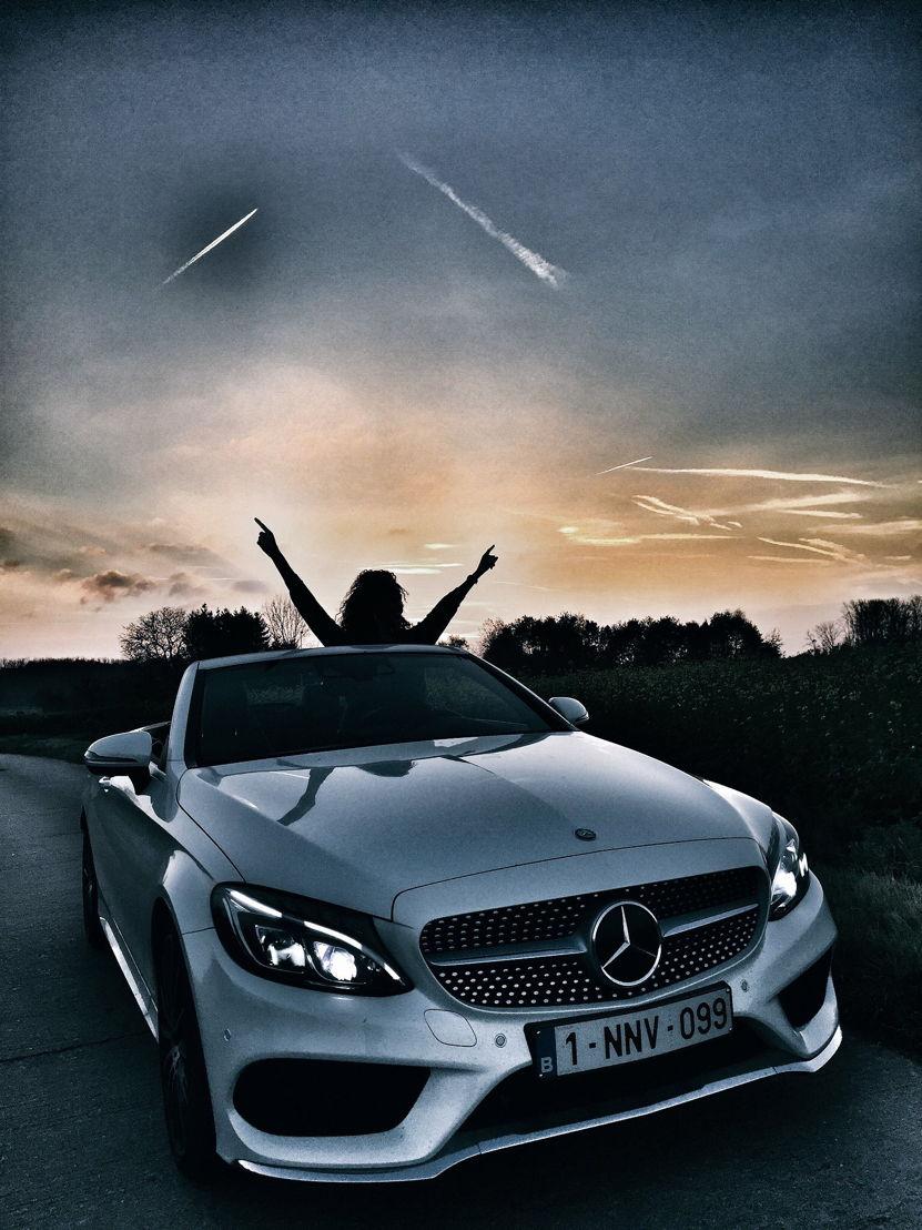 Mercedes cabrio x Tatyana Beloy